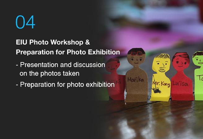 eiu photo workshop & preparation for photo exhibition